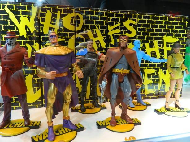 Mattel Watchmen Club Black Freighter group