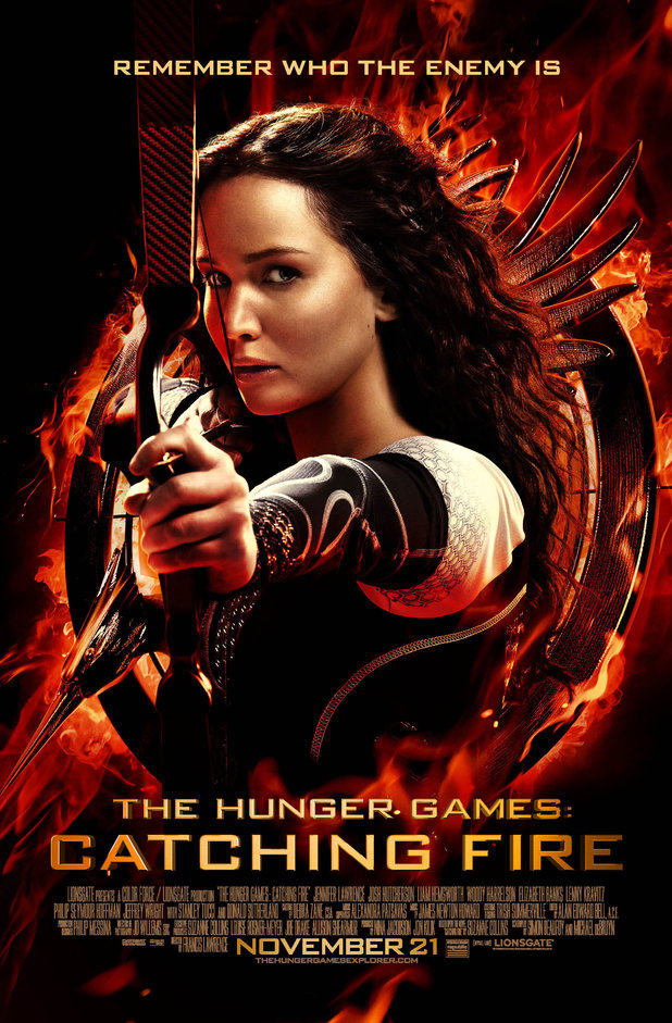 The Hunger Games Catching Fire Katniss Aims Poster