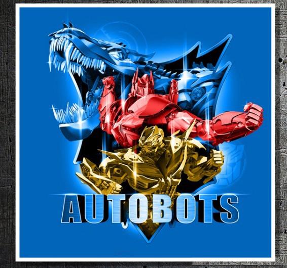transformers 4 autobots concept poster