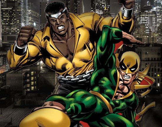 Heroes for hire Luke Cage Iron Fist
