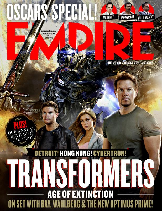 Optimus Prime Empire Magazine Transformers 4