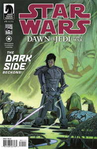 Star Wars Dawn of the Jedi Force War 1 cover