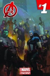 Avengers 1 Now cover