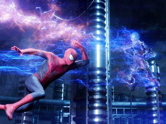 amazing spider man 2 electro vs spidey