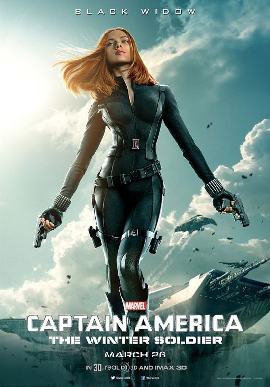 Captain America The Winter Soldier 02 Black Widow