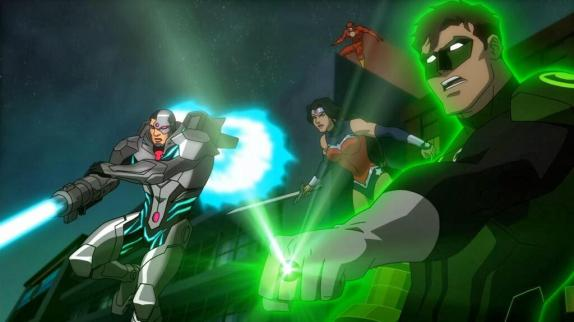 Justice League War 02