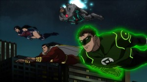 Justice League War 01