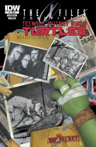 TMNT X-Files Conspiracy 1 cover