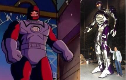 X Men Days of Future Past Sentinel comparison