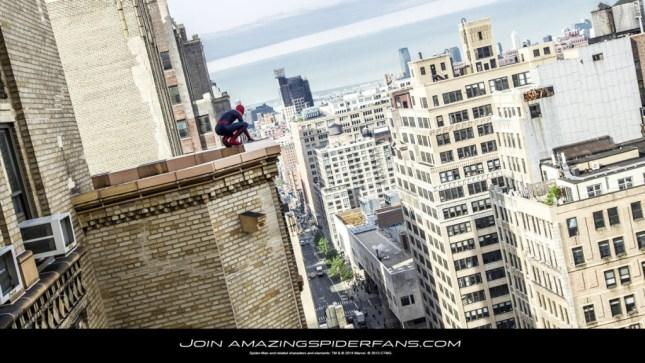 the amazing spiderman 2 nyc