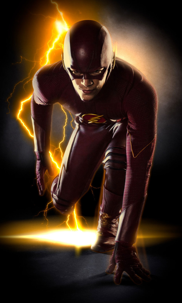 Grant Gustin Full Flash Suit