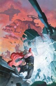 Thor God of Thunder 21 cover