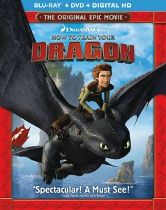 how to train your dragon bluray