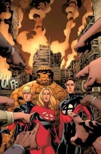 Fantastic Four 5 cover