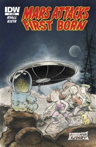 Mars Attacks first born 1 cover