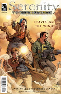 Serenity Leaves on the Wind 5 variant cover Jeanty
