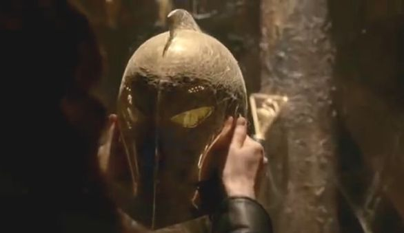 Dr Fate helmet constantine