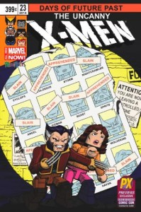 SDCC Diamond Select X Men 23 cover minimates