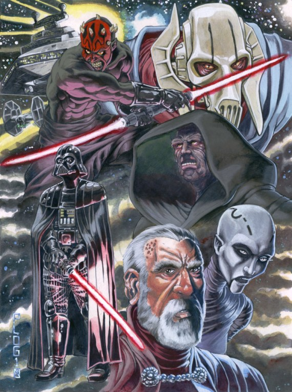 Star_Wars_Villains_by_mattPLOG