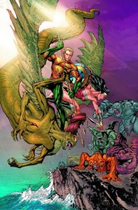 Aquaman Annual 2 cover