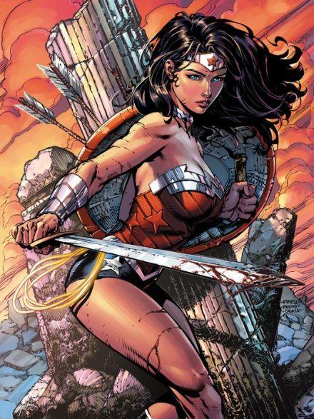 David Finch Wonder Woman