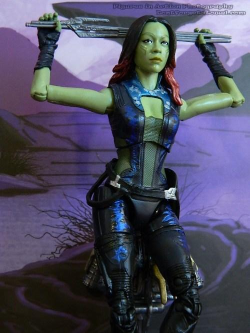 GOTG Gamora Marvel Legends