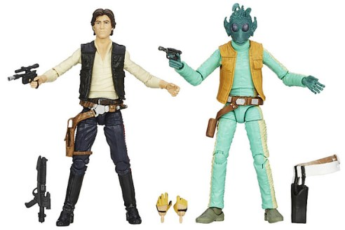 SDCC 2014 Star Wars Black Han Solo Greedo Cantina Showdown