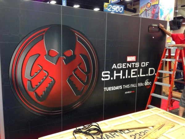 SDCC Agents of SHIELD banner