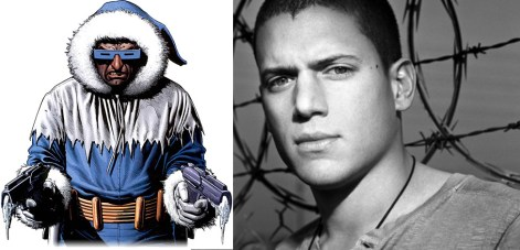 Wentworth Miller Captain Cold