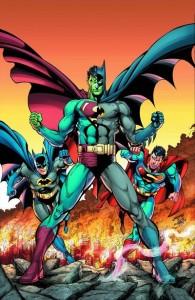 Batman Superman 13 75th Anniversary variant