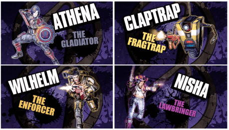 Borderlands The Pre Sequel characters