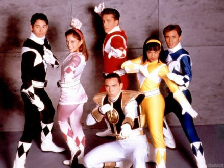 Power rangers 01