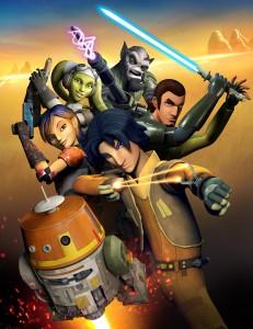 Star Wars Rebels group