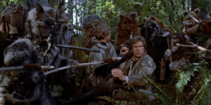 return of the jedi ewoks