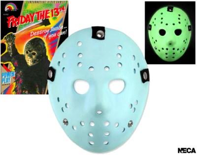 NECA Jason mask glow dark