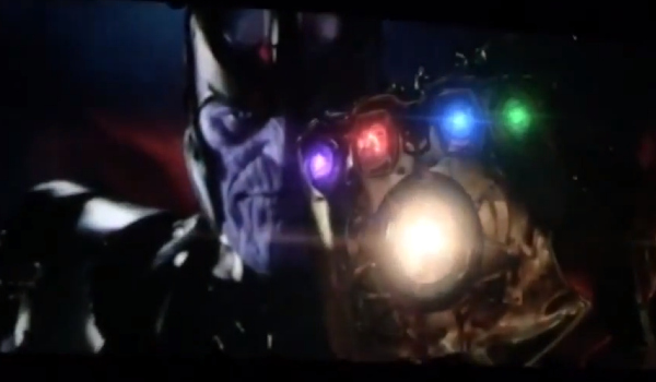 infinity war screenshot