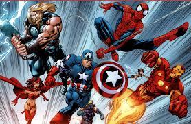 avengers comic spiderman