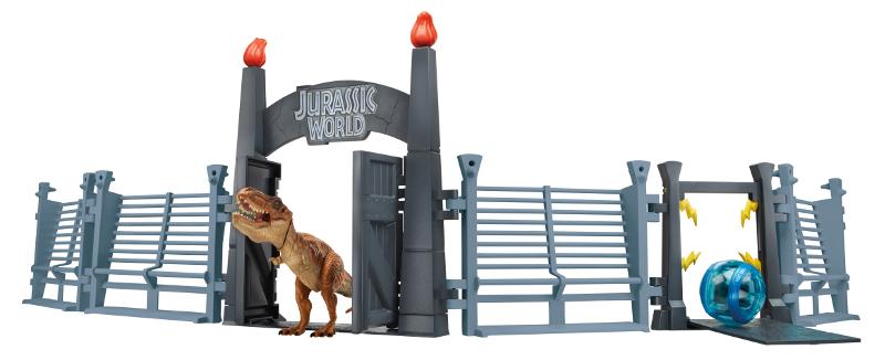 Jurassic World Tyrannosaurus Rex Lockdown Playset