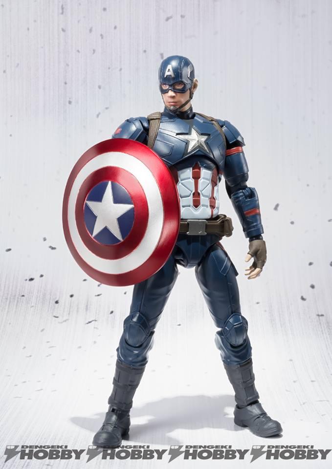 Captain America Civil War figuarts