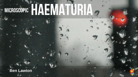 Microscopic haematuria