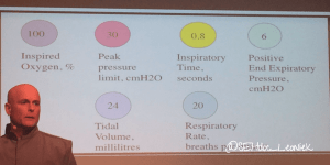 Phil Hyde on the basics of neonatal ventilation