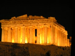 Illuminated History, Parthenon Athens
