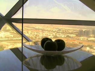 A for apples in Abu Dhabi
