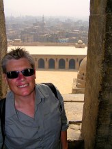 On top of Cairo, Egypt