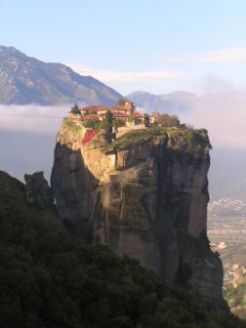 One of the monasteries at Meteora, The Holy Trinity