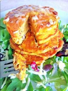 Savoury squash/pumpkin pancakes Dinner Lunch