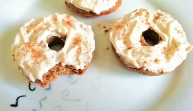Carrot cake protein donuts Breakfast Desserts snack vegan