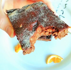 Keto chocolate orange brownies Desserts Grainfree snack