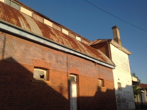 The old theatre at Grenfell, NSW