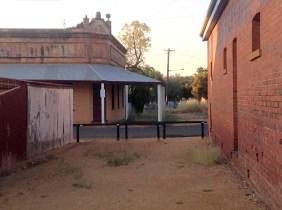 The original Railway Hotel, George St, Grenfell, NSW